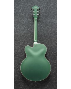 Ibanez AFS75T MGF AFS Artcore 6 String Metallic Green Flat Semi Hollow Body Electric Guitar