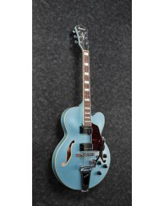 Ibanez AFS75T STF AFS Artcore 6 String Steel Blue Flat Semi Hollow Body Electric Guitar