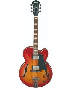 Ibanez AFV75 VAL AFV Artcore Vintage Amber Burst Low Gloss Hollow Body Electric Guitar AFV75VAL