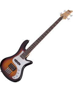 Schecter Stiletto Vintage-4 Electric Bass 3-Tone Sunburst  SCHECTER2524