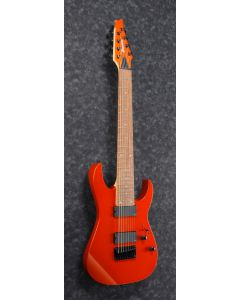Ibanez RG80E ROM RG Standard 8 String Roadster Orange Metallic Electric Guitar