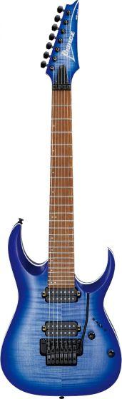 Ibanez RGA7420FM BLF RGA Standard 7 String Blue Lagoon Burst Flat Electric Guitar
