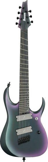 Ibanez RGD71ALMS BAM RGD Axion Label Multi Scale 7 String Black Aurora Burst Matte Electric Guitar