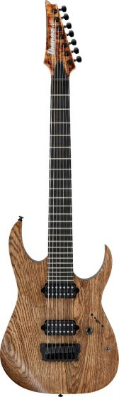 "Ibanez RGIXL7 ABL RG Iron Label 7 String 27"" scale Antique Brown Stained Low Gloss Electric Guitar"