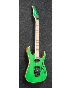 Ibanez RGR5220M TFG RG Prestige 6 String Transparent Fluorescent Green Electric Guitar w/Case