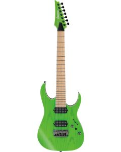Ibanez RGR5227MFX TFG RG Prestige 7 String Transparent Fluorescent Green Electric Guitar w/Case RGR5227MFXTFG