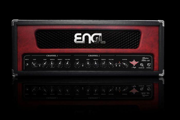 ENGL Amps RETRO E762 50 Watt HEAD (incl. black, red, & white frames)