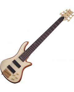 Schecter Stiletto Custom-6 Electric Bass Gloss Natural  SCHECTER2543