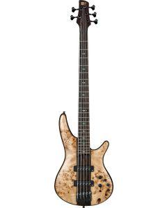 Ibanez SR Premium SR1705 5 String Natural Bass Guitar SR1705BNT