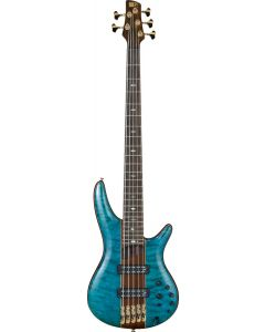 Ibanez SR Premium SR2405 5 String Caribbean Green Low Gloss Bass Guitar SR2405WCGL