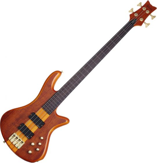 Schecter Stiletto Studio-4 FL Electric Bass Honey Satin