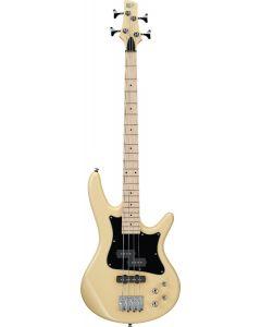 "Ibanez SR Mezzo SRMD200K 4 String 32"" Medium Scale Vintage White Bass Guitar SRMD200KVWH"