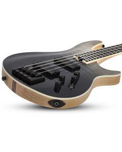 Schecter SLS ELITE-4 Electric Bass in Black Fade Burst