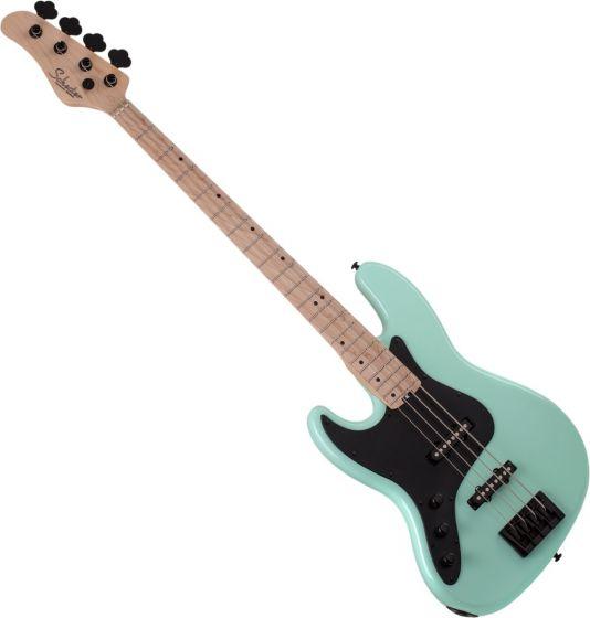 Schecter J-5 Left Handed Electric Bass in Sea foam Green