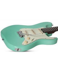 Schecter Nick Johnston Traditional Electric Guitar in Atomic Green