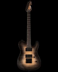 ESP LTD TE-1000 Evertune Black Natural Burst Electric Guitar LTE1000ETFMBLKNB