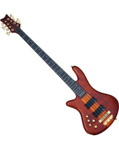 Schecter Stiletto Studio-8 Left-Handed Electric Bass Honey Satin  SCHECTER2741