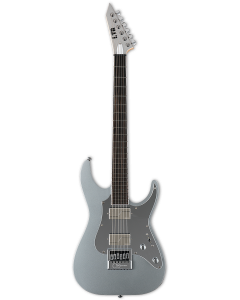ESP LTD KS M-6 Evertune Ken Susi Metallic Silver Electric Guitar w/Case LKSM6ETMS