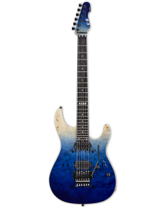 ESP E-II SN-2 Blue Natural Fade Electric Guitar w/Case EIISN2BMBLFD