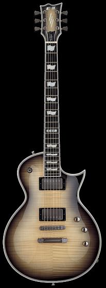 ESP E-II Eclipse Full Thickness Black Natural Burst Electric Guitar