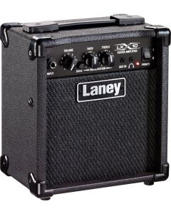 Laney LX 10W Electric Guitar Combo Amp 1x5 with Drive LX10 BK LX10 BK