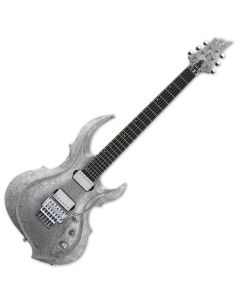 ESP FRX Original Series Electric Guitar in Liquid Metal Silver EFRXLMS