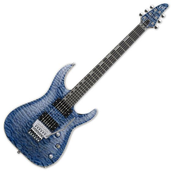 ESP Horizon FR CTM Electric Guitar in Faded Sky Blue