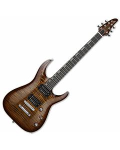 ESP Horizon NT CTM Electric Guitar in Antique Brown Sunburst EHORNTCTMABSB