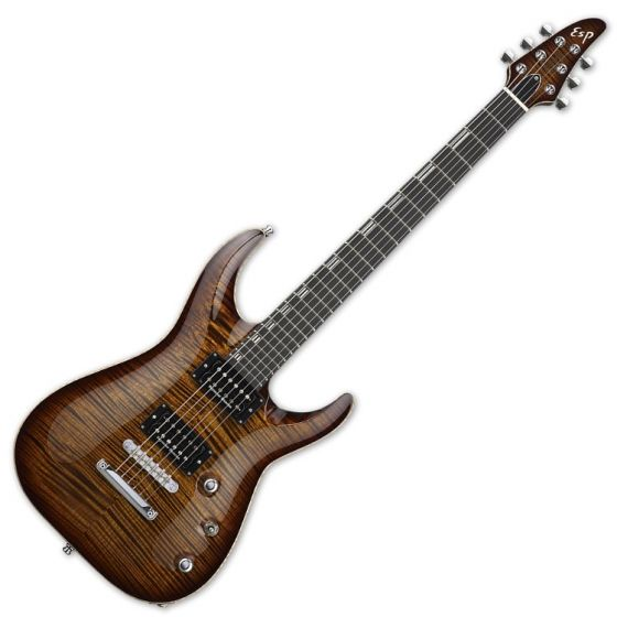 ESP Horizon NT CTM Electric Guitar in Antique Brown Sunburst