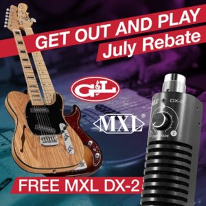free mic with any G&L USA guitar